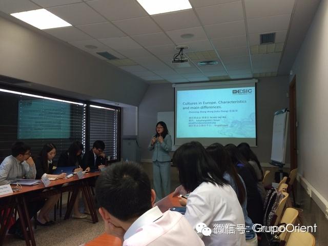 诚信基金会理事长JULIAZHANG应邀去ESIC商校演讲
