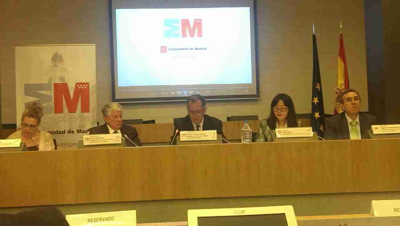 马德里大区新视频介绍会在马德里企业联合会CEIM会址举行
