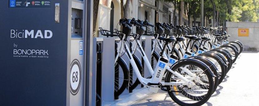 马德里推出自行车借取服务- BiciMAD