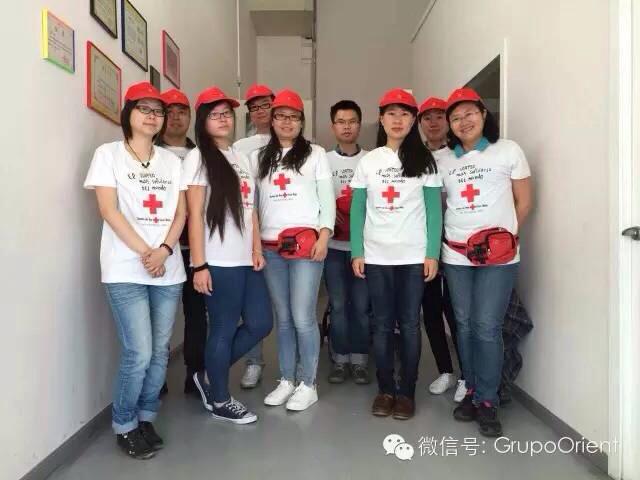 诚信基金会在COBO CALLEJA仓库区帮红十字会实地募捐圆满成功