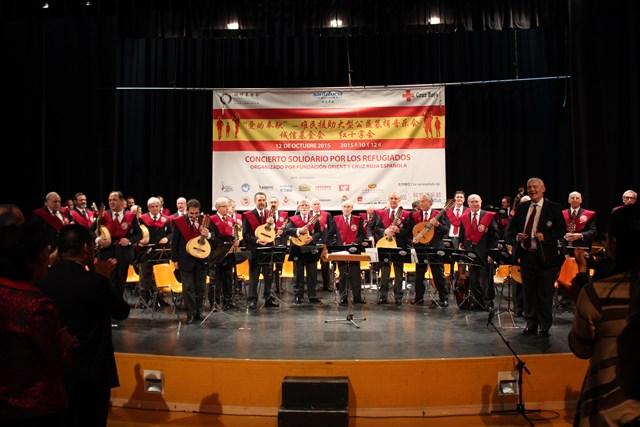 """""""爱的奉献"""" – 难民援助大型公益募捐音乐会成功举办。"""