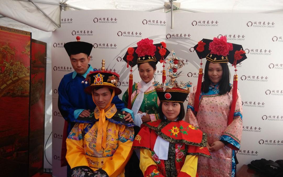 春节庙会。