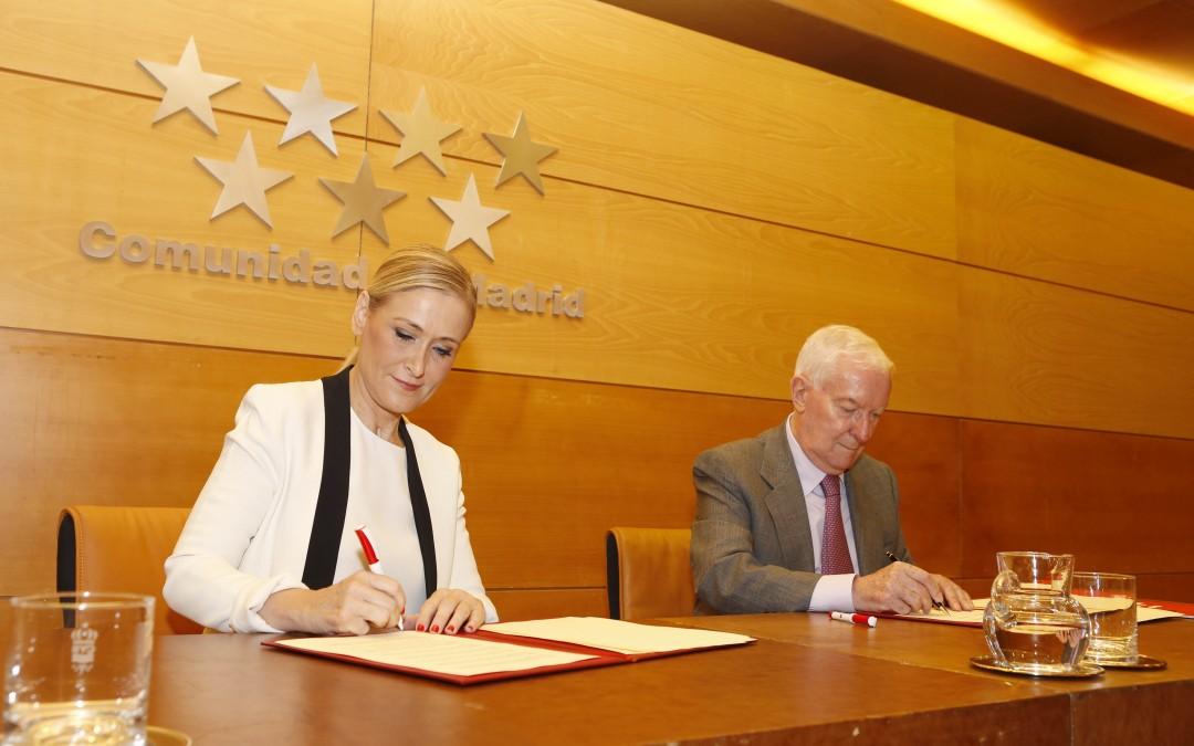 马德里大区与塞万提斯学院签订合作协议