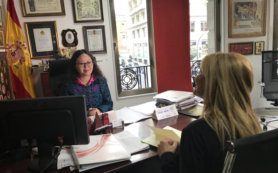 诚信基金会 JULIA接受中国环球电视网采访