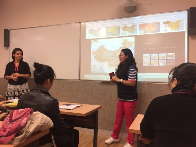 NEBRIJA 大学专门为华人设计的首个B1级西语课程顺利开课1